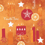 Linclass-Serviette-Candle-Time-orange-82147.jpg